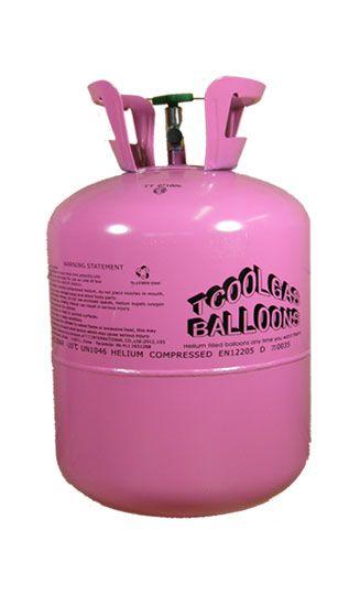 Bouteille jetable d'hélium - bouteille pour 50 ballons - Unité