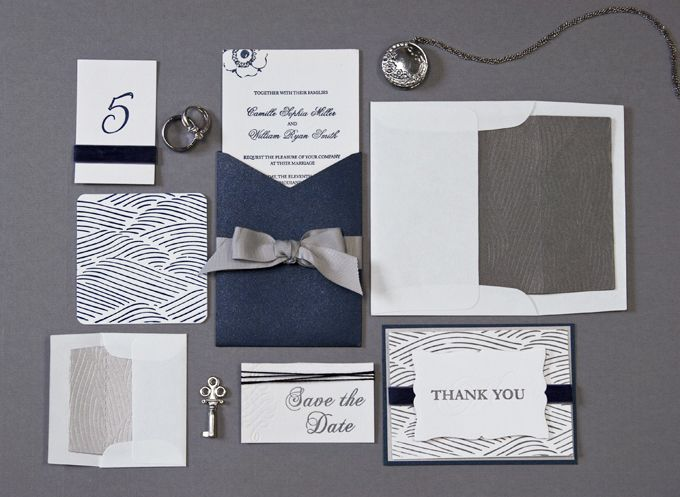 84 best letterpress inspiration images on pinterest memoirs diy letterpressed blue and silver wedding stationary set diy letterpress lifestylecrafts solutioingenieria Choice Image