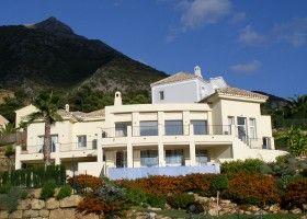 Moderne Villa im Sierra Blanca Country Club zu verkaufen, Meerblick, 4 Schlafzimmer, 3 Bäder, Objekt Nr. 1098, Marbella Goldene Meile, Costa del Sol, Spanien.