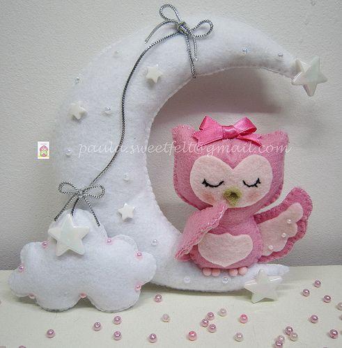 ♥♥♥ Ssssshhhh.... hora de fazer óó... by sweetfelt  ideias em feltro