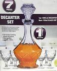 Whiskey Karaffe Set Set mit 7 Klar Wein Whiskey Saft Wasser Stangen Set Produkte…