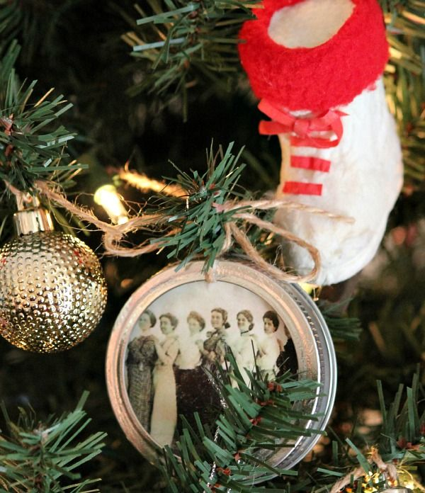 Unique Picture Ornaments Ideas On Pinterest Picture - Charm of vintage christmas – 25 fascinating ideas