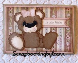 On Ebay ~ Vintage Girl Birthday Card