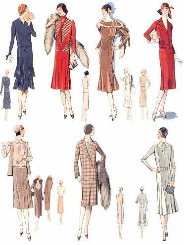 Mode/Damen/1925
