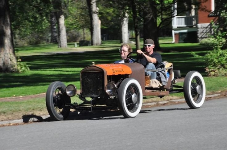 """Mikey Robison of Antique Auto Ranch Ford Model T """"No"""