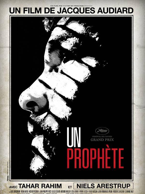 Un prophète est un film de Jacques Audiard avec Tahar Rahim, Niels Arestrup. Synopsis : Condamné à six ans de prison, Malik El Djebena ne sait ni lire, ni écrire. A son arrivée en Centrale, seul au monde, il paraît plus jeune, plus fragil