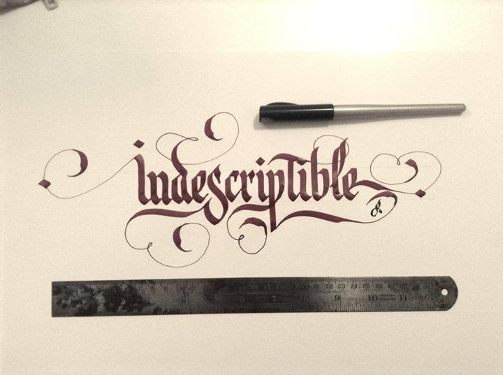 Best type gothic calligraphy images typography