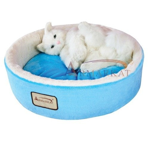 Armarkat Cat Bed In Sky Blue And Ivory 11 95 Prince