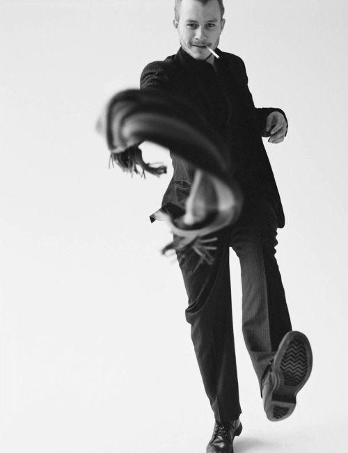 Heath Ledger - Movement makes it more dynamic