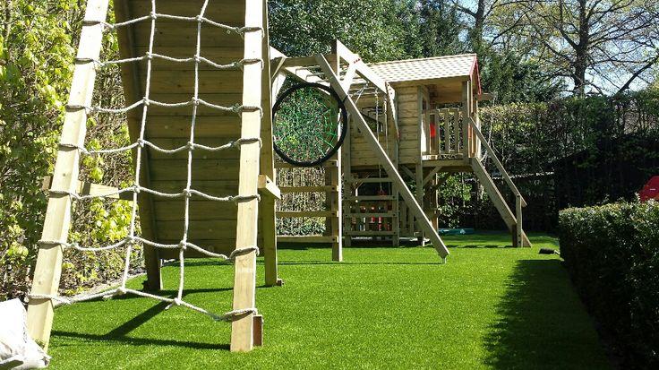 Ideaal voor jonge gezinnen met spelende kinderen.