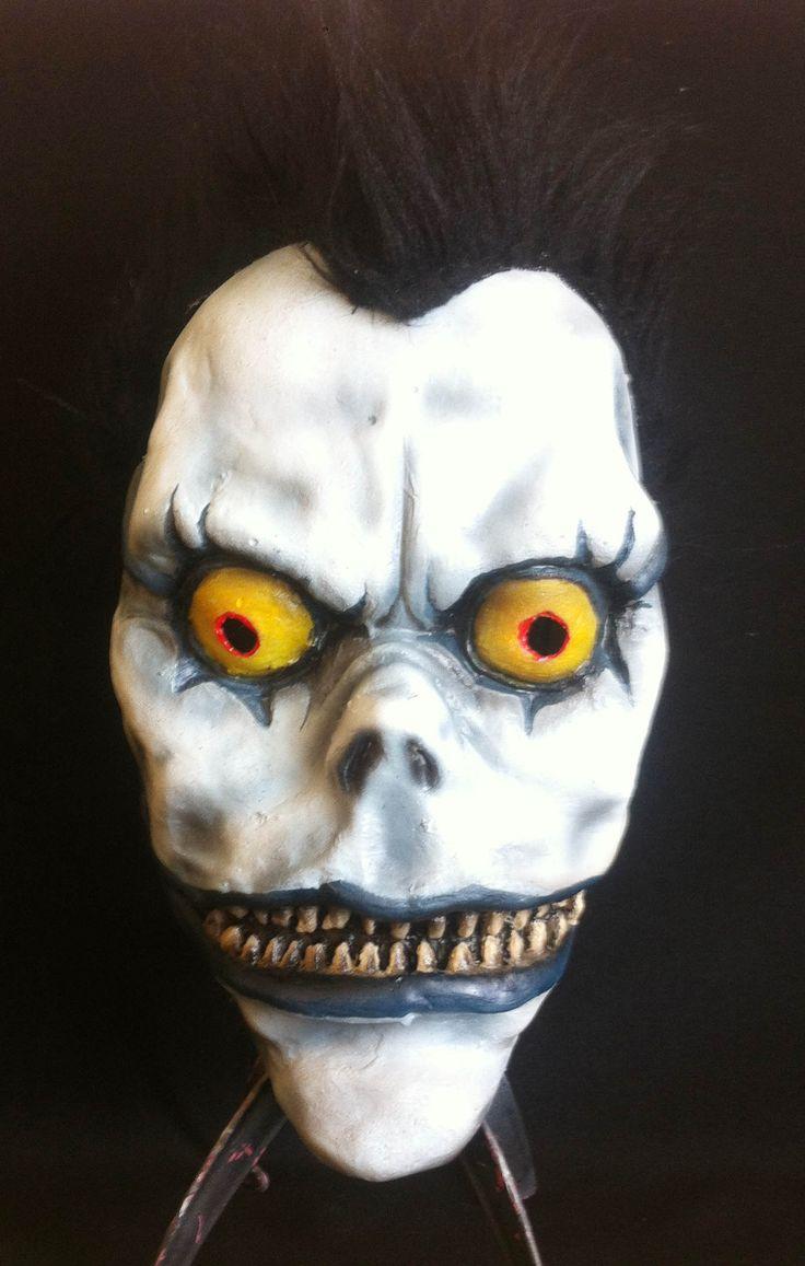Shinigami Ryuk latex mask www.facebook.com/maskshopchile
