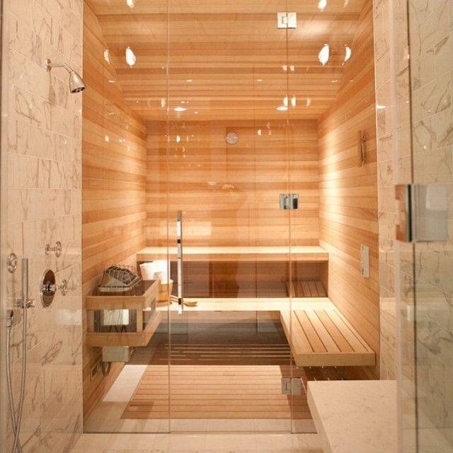 E uma sauna logo atrás do box??!!! Demais!! #idEiAdodia