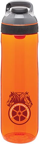 Printing your logo on another brand you love and trust! 24 oz Contigo cortland water bottle Available in 6 colors
