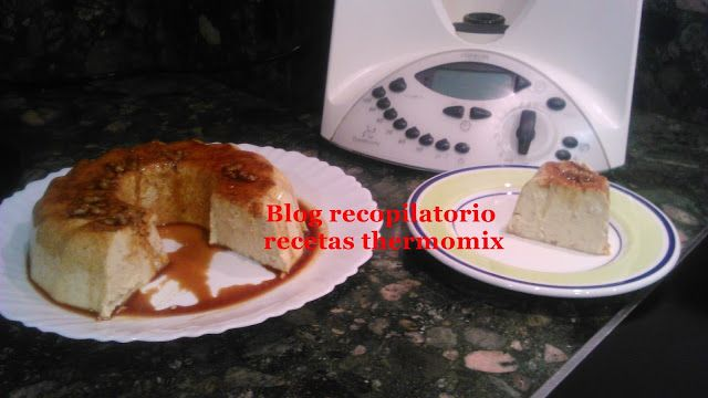 Recopilatorio de recetas thermomix: Flan de nueces y mascarpone thermomix
