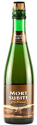 """Mort Subite Oude Geuze ABV: 7.00%Category: Sour BeerOrigin: BelgiumStyle: Gueuze Website: http://www.mort-subite.be World's Best Sour Beer 2014 """"Grapefruit, acetic notes, balanced accordingly to style. Good body, subtle finish."""" """"Punchy sourness, lengthy taste, really enjoyable."""" √"""