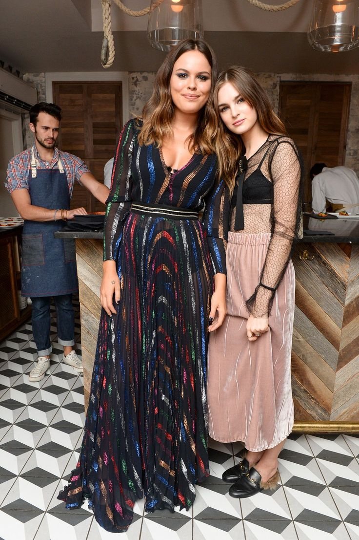 Atlanta de Cadenet Taylor, Laura Love in Gucci - A Celebration in Honor of Gucci's New Fall Winter Collection - September 18, 2015