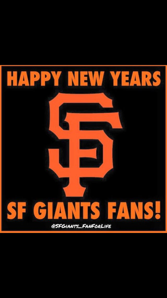 happy new yearsf giants sf giants pinterest giants baseball baseball and happy new