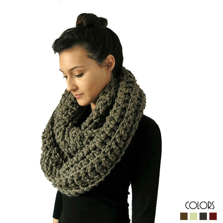 A handmade infinity scarfthis is an incredibly soft and