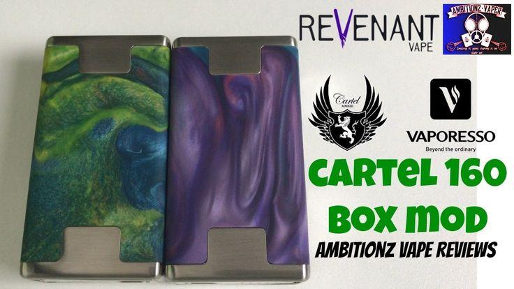Cartel 160 Box Mod by Cartel Mods & Revenant Vape | Not So Good In TC Mode