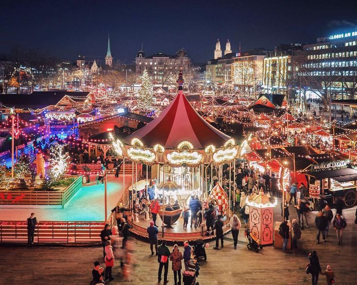 "2,094 Likes, 71 Comments - Harry & Carrie Meier (@harrysding) on Instagram: ""Our beautiful Zürich. Call us biased, but we have one of the prettiest Christmas markets ever!…"""