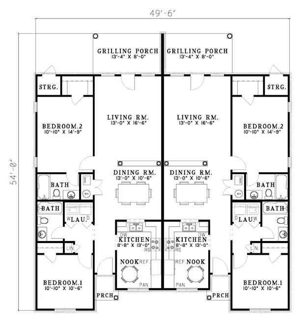 76 best images about multi unit plans on pinterest for Multi unit plans