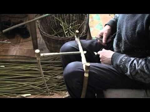 Many basket weaving techniques