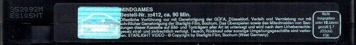 MINDGAMES (OVERSEAS FILMGROUP, 1989), PAL VHS, STARLIGHT, ALLEMAGNE, L'UE, TRUMP BREXIT E.U. army, indie girl power, it girl, Sony AXN, Lou DOILLON, Perfect Pussy, Louise FOLLAIN, #natalieoffduty.com, Natalie off Duty, Natalie Lim SUAREZ, Natalie SUAREZ, Stacy MARTIN, garçonnes, mode gitane, riot grrrl, tatouage sirene, filles bohémiennes, rockabilly style, glam rock, hippie boho, 60s style, witchy clothing, grunge, Macron jeune, heavy metal music festival style, 23 juin 2016, 2017 & 2018
