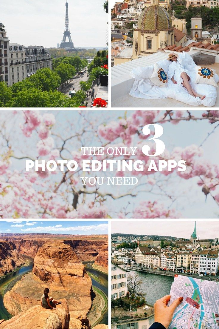 The Best 3 Photo Editing Apps for