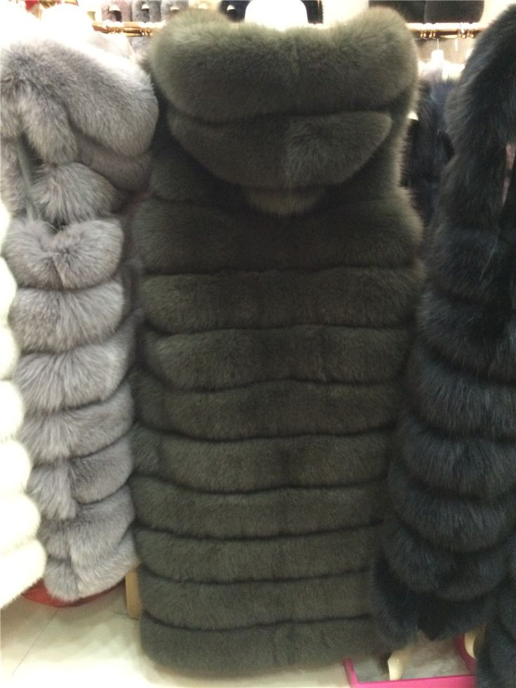 Fur. Coat. Vest. The fur vest. Fashion.
