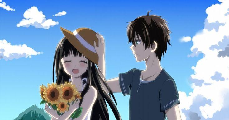 30 Gambar Animasi Couple Keren- 222 Hyouka Hd Wallpapers ...