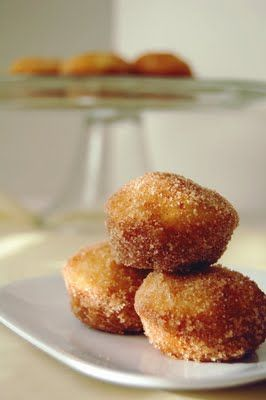 French Donuts: Yum! First time I made these I was in high school or maybe Skyway. They were so easy and tasty. Now I make them in mini form and they are perfect. One thing is I didn't use a cup of sugar in the last step, maybe about half that much. Enjoy.