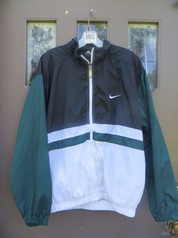 vintage Nike Windbreaker Jacket Vintage by Linsvintageboutique