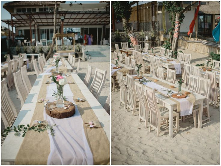 Simply Rustic Wedding Table Decoration