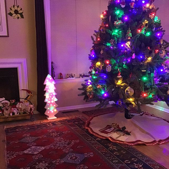 Wood Christmas Tree With Lights Christmas Decorations Etsy In 2020 Mason Jar Decorations Decorating With Christmas Lights Christmas Decorations Rustic