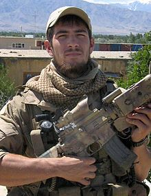 Danny Dietz.  From Littleton, Colorado, USA. US Navy, 1999–2005 Rank:  Gunner's Mate 2nd Class Unit:  Unit SEAL Delivery Vehicle Team Two, Naval Special Warfare Unit, Afghanistan.   Battles/wars:	Iraq War, War in Afghanistan, Operation Red Wings. Awards:  Navy Cross, Silver Star, Purple Heart