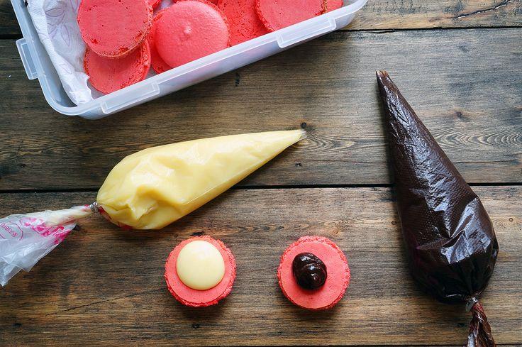 Ганаш с белым и тёмным шоколадом, идеальная начинка, пошаговый фото рецепт, кулинарный блог andychef.ru