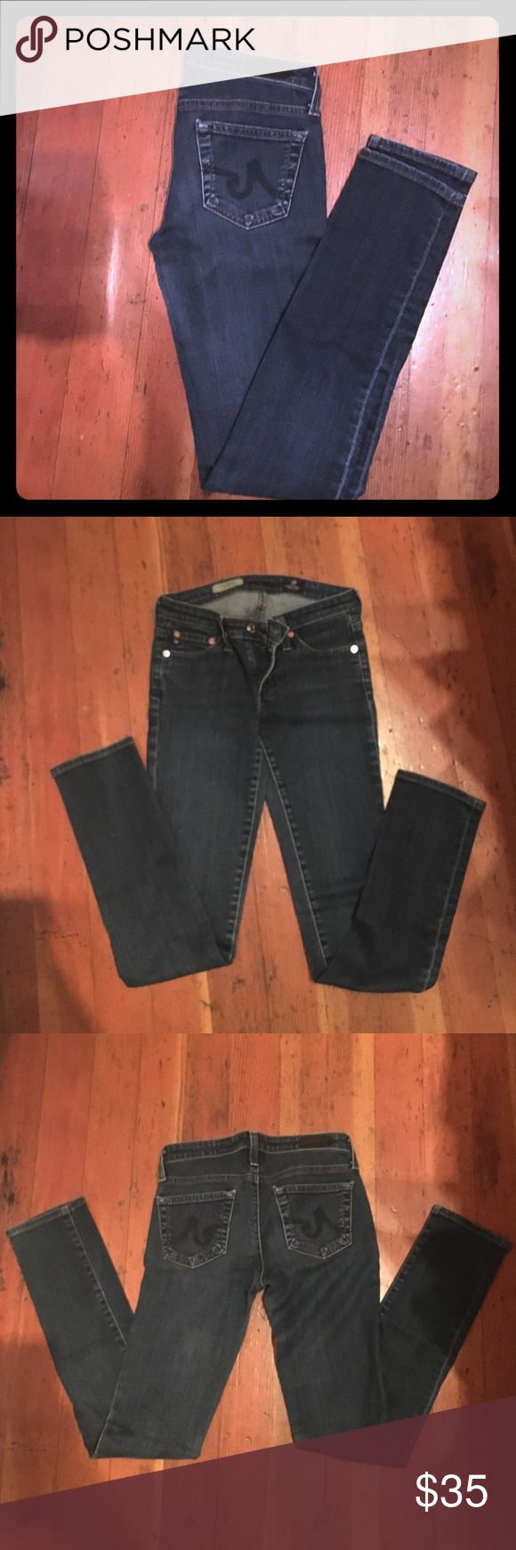 AG The Stilt Cigarette Jean Size 24R Soft and comfortable. These are a small 24. AG Adriano Goldschmied Jeans Skinny