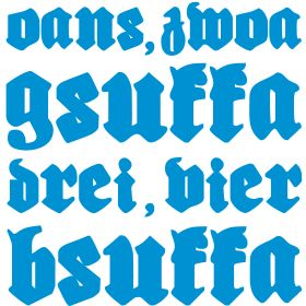 """Oans, zwoa, gsuffa, drei, vier bsuffa"" | Oktoberfest T-Shirts bedrucken"