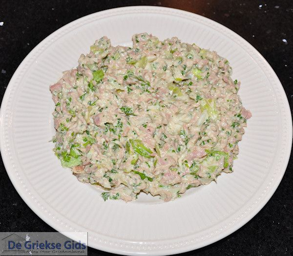 Tonijnsalade - Tonijn salade