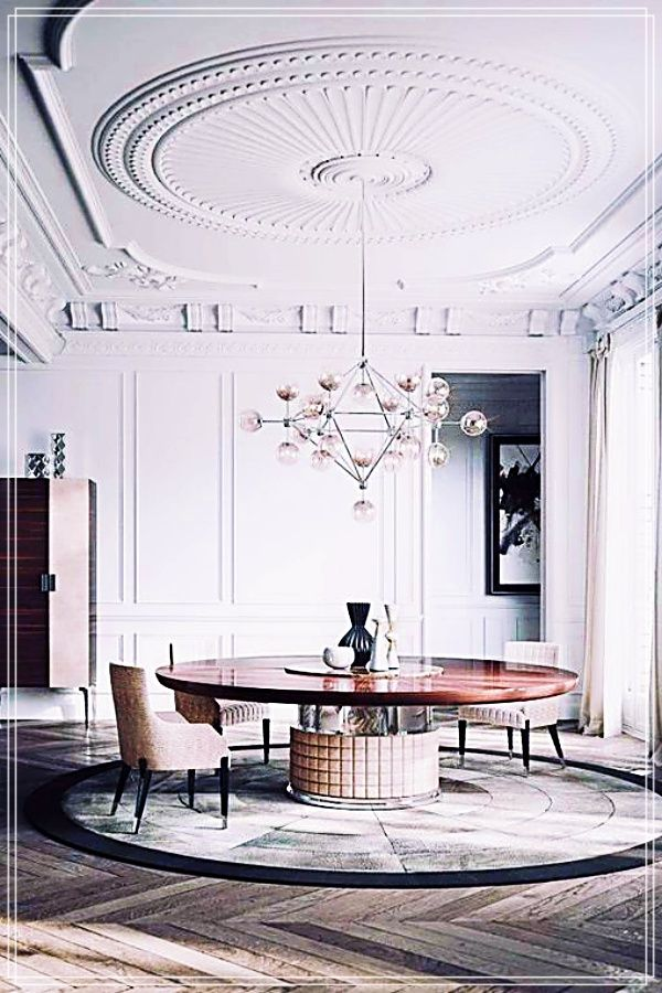 Practical Home Decor Advice That Anyone Can Try House Design Luxury Home Decor Modern Dining Room