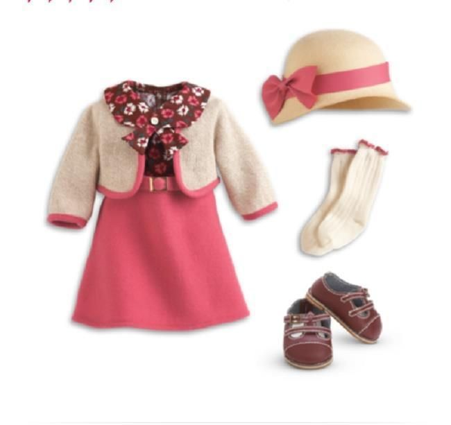 American Girl Kit School Skirt Outfit, New! #AmericanGirl #ClothingShoes