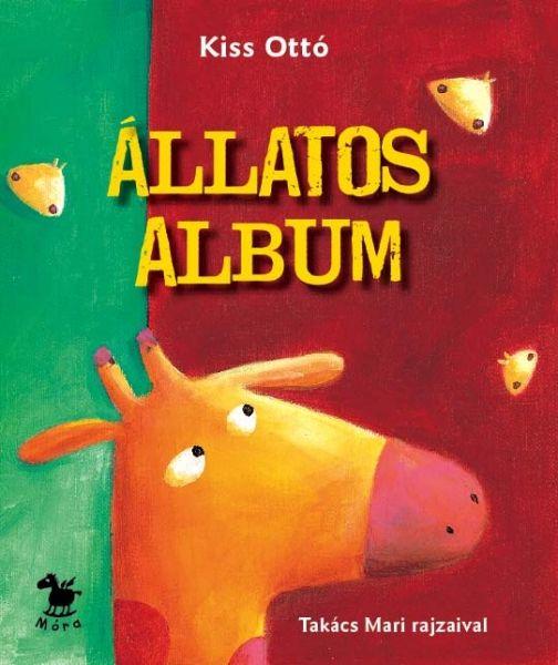 Állatos album (lapozó), gyermek- és ifjúsági könyvek, Kiss Ottó, könyvrendelés, olcsó könyvek, könyvesbolt
