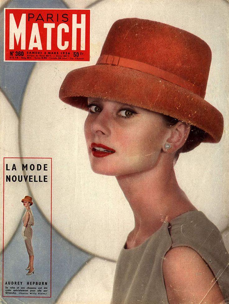 Audrey Hepburn,1956