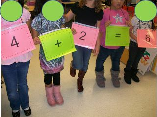 "Here's a nice idea for teaching ""turn-around facts"" or the commutative property."