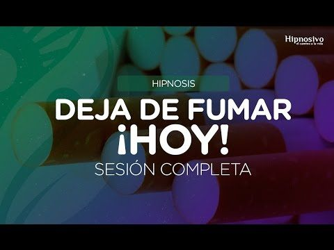 Dejar de fumar con hipnosis -  Sesión completa. - YouTube