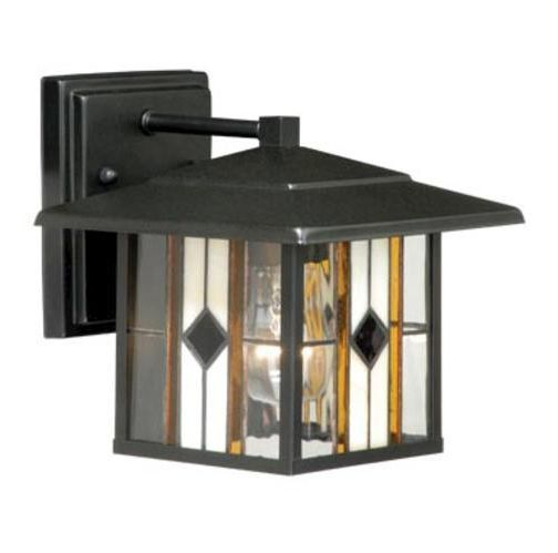 Exterior Outdoor Light Lamp Stained Gl Modern Wall Sconce Tiffany Style