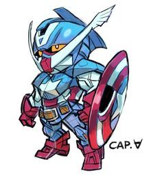 もしもガンダムがマーベルコミックのスーパーヒーローになったら                                                                                                                                                     もっと見る
