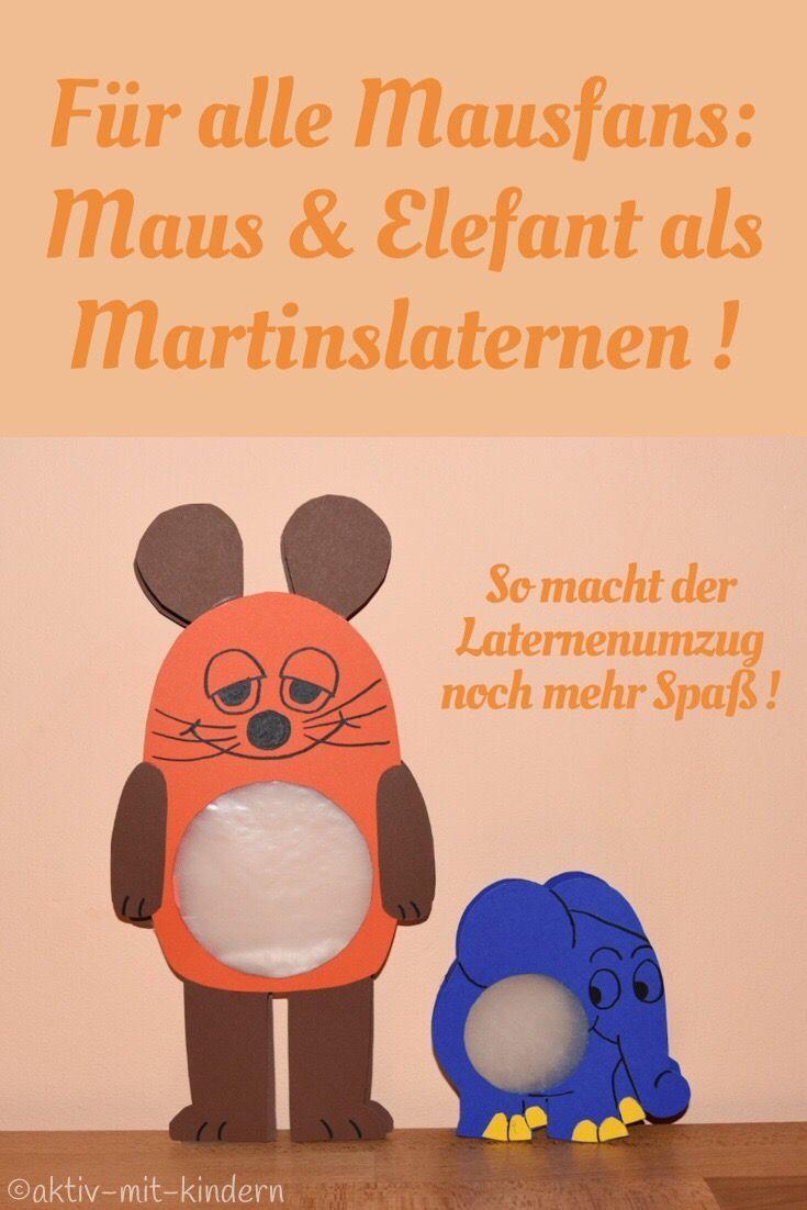 Laterne Sendung mit der Maus; Maus und Elefant