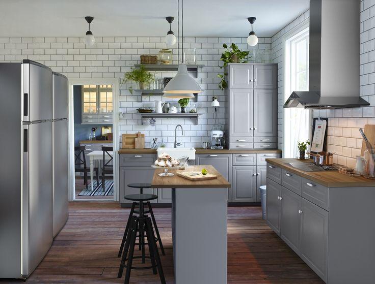 Die besten 25+ Ikea küche metod Ideen auf Pinterest Ikea küchen - kleine küchenzeile ikea