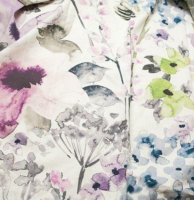 Портьерная ткань с цветочным принтом 7568-01 Eijffinger